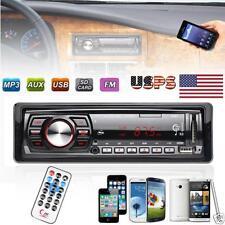 Auto Radio Lecteur Stéréo MP3 USB SD AUX Récepteur D'entrée FM In-Dash iPods EH