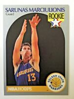 1990 Sarunas Marciulionis, Warriors, Sonics, Hoops, #115, ROOKIE CARD RC, + LOT