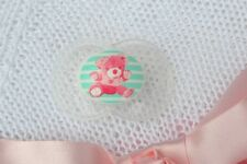 Pjs �� Lil` Teddy Bear �� Dummy Pacifier Soother + Magnet For Reborn Baby Doll