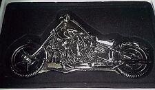 SKULL MOTORCYCLE FOLDING POCKET KNIFE