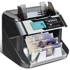 More details for note counter machine money currency banknote counting detector cash 200 bills