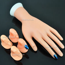 BF MOVABLE SOFT PRACTICE HAND FOR NAIL ART TRAINING N 4 X PRACTICE FINGER 242
