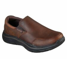 Skechers Slip On Mens Loafers Relaxed Fit: Expended - Olego Memory Foam Shoes