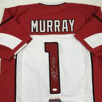 Autographed/Signed KYLER MURRAY Arizona White Football Jersey JSA COA Auto