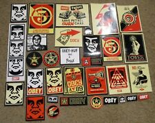 SHEPARD FAIREY Obey Giant 31 STICKER PACK lot art from poster print