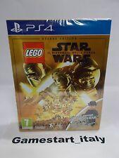LEGO STAR WARS IL RISVEGLIO DELLA FORZA DELUXE EDITION - SONY PS4 - NUOVO