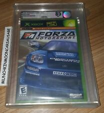 New Sealed VGA Graded 85 NM+ USA Forza Motorsport for NTSC-U Microsoft XBox