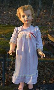 """vtg 1960's 36"""" walking doll"""