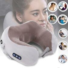 Electric Massage U Shaped Memory Foam Neck Pillows Soft Slow Rebound Spa