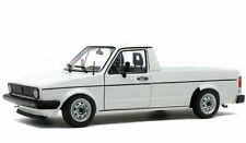 VOLKSWAGEN CADDY WHITE TRUCK 1:18 SCALE MODEL GOOD DETAIL RARE CLASSIC DIECAST