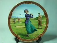 Royal Worcester LADIES DAY Plate Golfing Collection - Melvyn Buckley