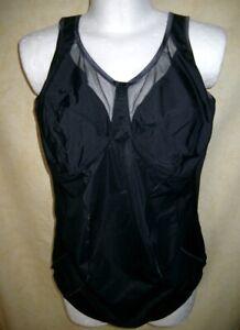 Komfort Korselett Miederbody Body schwarz von ANITA Clara Gr.105 D - NEUWARE