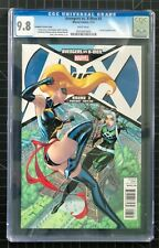 Avengers vs X-Men #3 - J Scott Campbell Variant - CGC 9.8 (Rogue & Ms. Marvel)