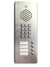 3G GSM Intercom with keypad and 4 buttons