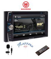 MACROM M-DVD6000DAB MEDIA STATION GPS CD/DVD/USB/DAB/BLUETOOTH A AUTO E CAMPER