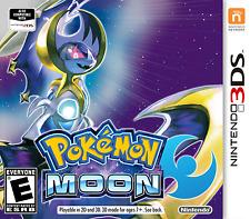 Unlocked Pokemon Moon + All 802 Pokemon 100% Legal Shiny Max Items Event 3DS New