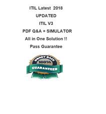 ITIL V3 FOUNDATION EXIN DUMP PRACTICE  Test PDF & Sim