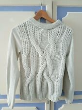 Lovely Karen Millen Jumper with silver shimmering, size 2 or UK8-10 - VGC