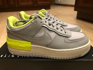 Nike Women's AF1 Shadow SE Atmosphere Grey CQ3317 002 Size 8.5
