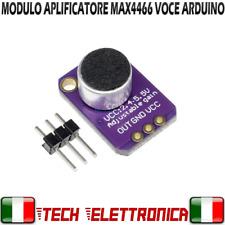 MAX4466 MODULO MICROFONO AMPLIFICATORE VOCE AUDIO ARDUINO