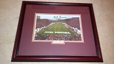 Frank Beamer signed & framed 8x10 Virginia Tech Hokies 2004 ACC Champions Print