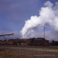 SOUTH AFRICAN RAILWAYS 6x6 transparency 497104 Witbank Consolidated Coal Mines