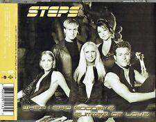 "STEPS - 5""CD - When I Said Goodbye / Summer Of Love (W.I.P Remix) Enhanced Cd"
