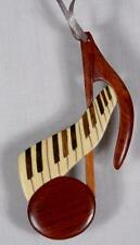 Wooden Double-Sided Ornament-Music Note & Keyboard-FREE SHIPPING