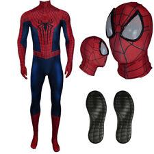 Costume Spiderman 2 Amazing con suole in gomma professionale carnevale cosplay