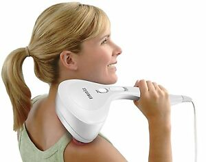 HoMedics PA-MHA Compact Percussion Handheld Deep Tissue Body Massager with Heat