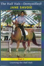 NEW Equestrian DVD HALF HALT DEMYSTIFIED 1 JANE SAVOIE