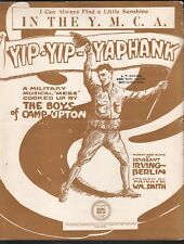 In the Y M C A 1918 Yip Yip Yaphank Irving Berlin Large Format