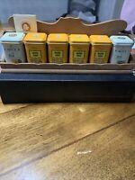 John Wagner's & Sons Tea Advertising Tins 6 - Tea & Spice Merchants Since 1847