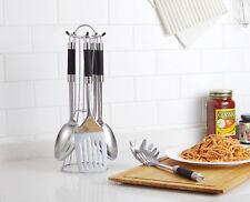 Vivo 5pc Stainless Steel Kitchen Tool Set Spoon Spaghetti Soup Ladle Turner