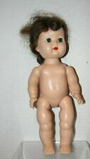 "Unmarked 10"" Hard Plastic Doll"