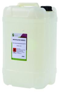 Industrial Denatured Alcohol, Methylated Spirits Quality Clear Meths 5L & 25L