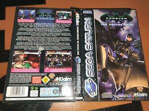## SEGA SATURN - Batman Forever: The Arcade Game - CIB ##