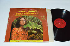 XAVIER ALBERTO & HIS ORCHESTRA Brazil Today Guatanamera LP Crown Stereo CST-570