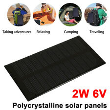Solar Panel Solar Charger Pane Durable 2W 6V DC Output Solar Light Waterproof