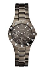Guess W0027L1 Glisten Stainless Steel Casing Gunmetal