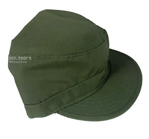 Original Military Cold Weather Combat Patrol Cap with Fold Out Fleece Earmuff
