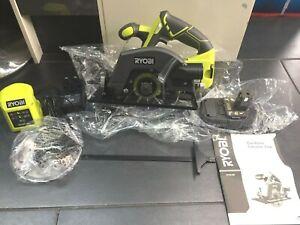 Brand New Ryobi R18CSP 18V ONE+ Cordless Circular Saw + 2Ah Battery + Charger