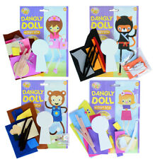Dangly Doll Craft Kit - Child craft Toy Childrens/Kids Gift Create