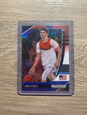 2020 Panini Prizm Draft Lamelo Ball Rookie Red White Blue Sp Charlotte Hornets