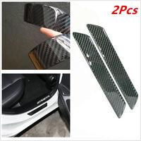 Carbon Fiber Scuff Plate Rear Door Sill Cover Panel Step Protector Guard 25.8CM