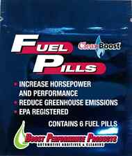 CleanBoost® Fuel Pills™ 6 Pack for Gas & Diesel Fuel