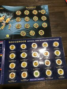 2006 2 Socceroos Medallion Collections, Journey To Germany And Road To Germany