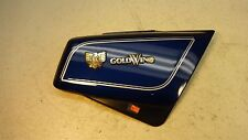 1984 Honda Goldwing GL1200 GL 1200 H1031. right side cover with emblems badges
