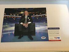 Don Cherry Signed 8x10 Photo PSA DNA COA Hockey Night In America a