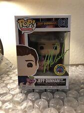 Signed Funko POP! Comedians Jeff Dunham #03, MINT BOXES! Shop Exclusive